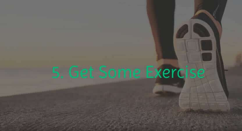 Exercise is a natural detox remedy