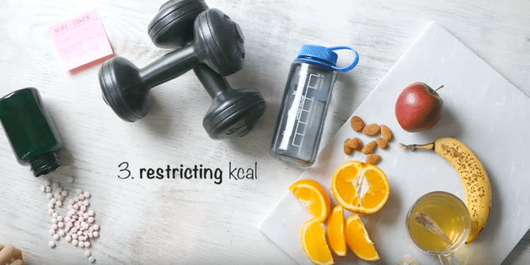 Restricting calories weight loss mistake