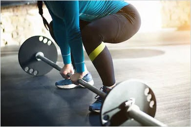 Lifting weights help fix weight loss stalls
