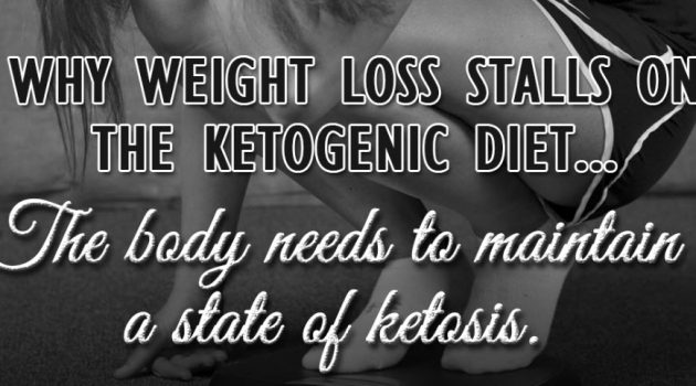 weight loss stalled on keto